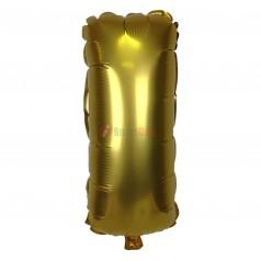 """16"""" Gold Foil Balloon Letter [I]"""