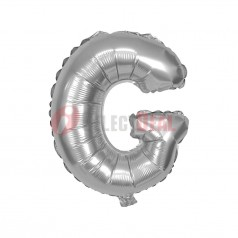 "16"" Silver Foil Balloon Letter [G]"