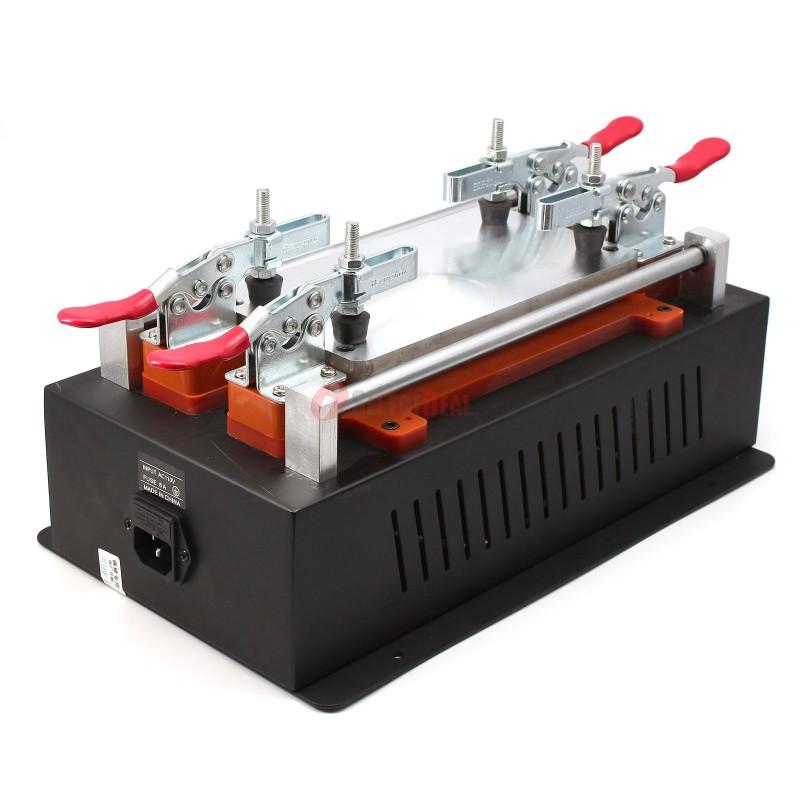 lcd separator machine plate